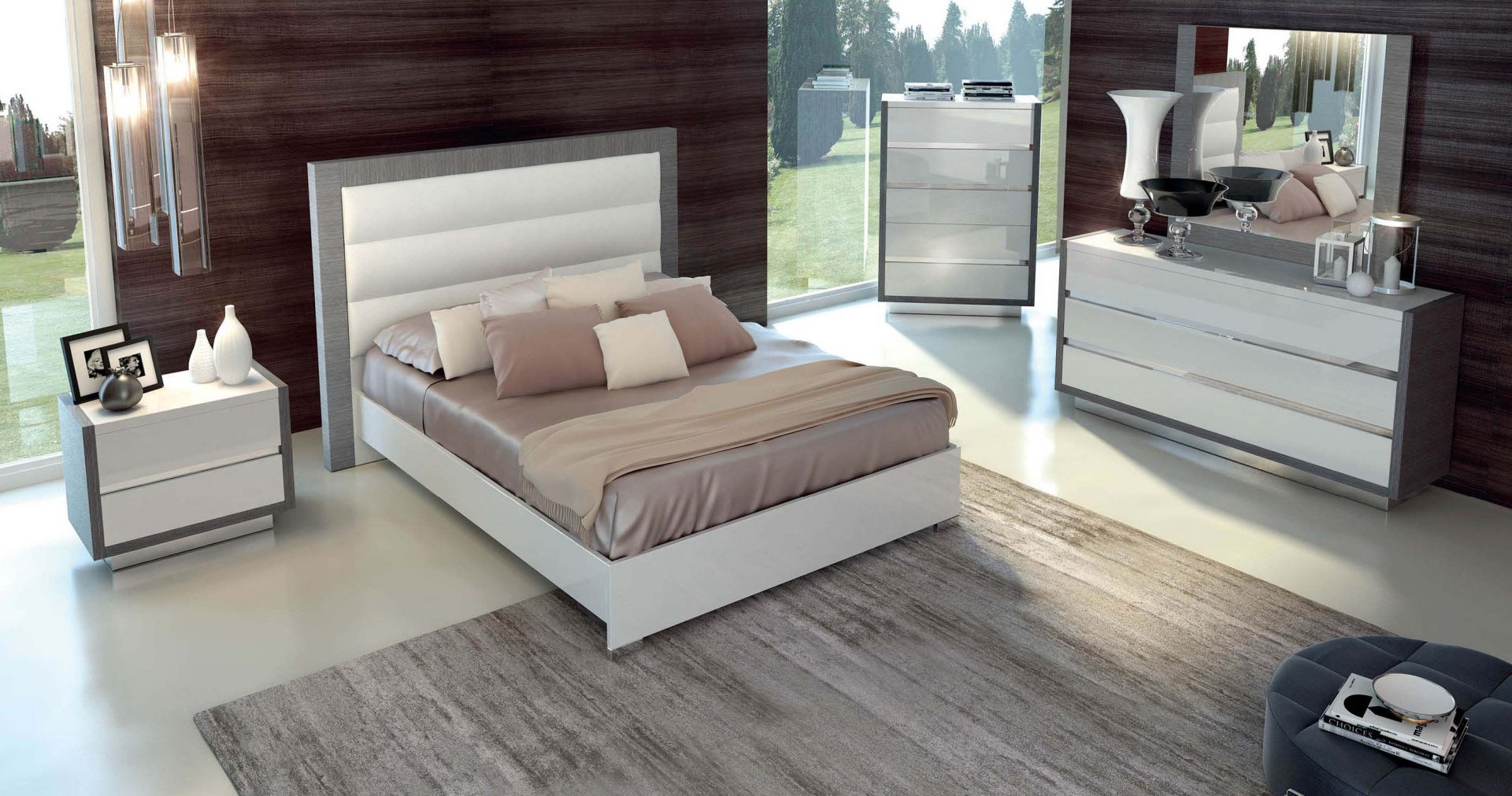 Modern bedroom set elegance decor for International decor outlet jacksonville