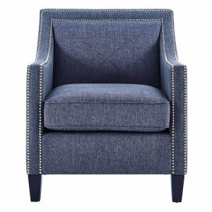 Asheville Linen Chair Front