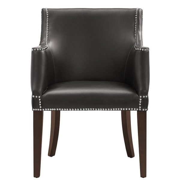 Bart Arm Chair Brown Front