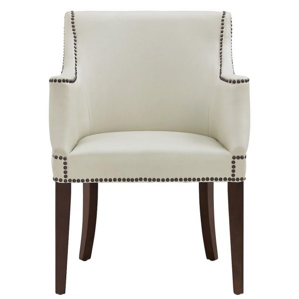 Bart Arm Chair Cream Front