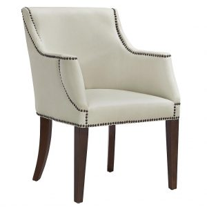 Bart Arm Chair Cream Side