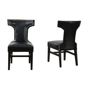 Tee Leather Dining Chair
